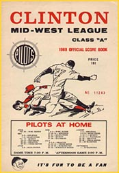 1969 Clinton Pilots score book